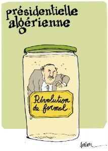 Presidente argelino ©Politis.fr