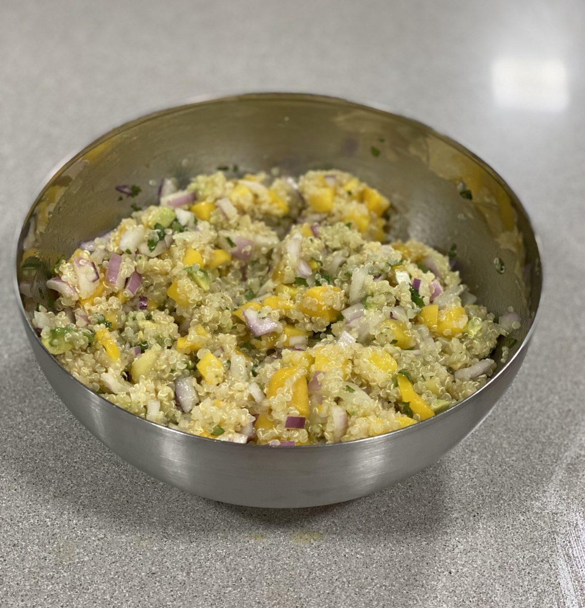 Deliciosa ensalada de quinoa